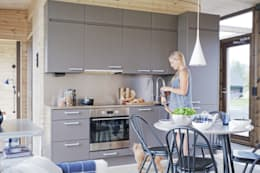 modern Kitchen by Woody-Holzhaus - Kontio