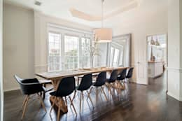 Urban Scandinavian Home: scandinavian Dining room by Urbanology Designs