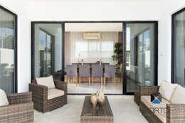 """PROYECTO LDZ26"": Terrazas de estilo  por PORTO Arquitectura + Diseño de Interiores"