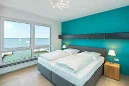 moderne Slaapkamer door Heinz von Heiden GmbH Massivhäuser