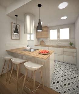 Nhà bếp by Grupo Inventia