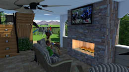 3D Rendering:   by MasterPLAN Outdoor Living