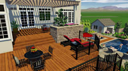 3D Rendering:   by MasterPLAN Landscape Design