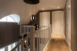 modern Corridor, hallway & stairs by Bob Romijnders Architectuur & Interieur