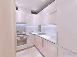 Дизайн кухни 6 кв метров: Кухни в . Автор – Студия интерьера Дениса Серова