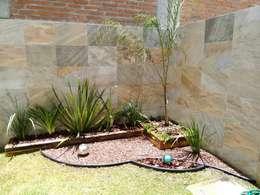 Projekty,  Ogród zaprojektowane przez Arqca