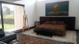 Habitacion: Salones de estilo  por Camilo Pulido Arquitectos
