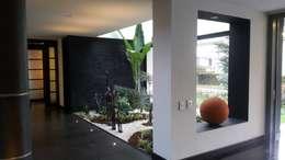 Jardin interior: Jardines de estilo moderno por Camilo Pulido Arquitectos