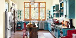 modern Kitchen تنفيذ Evinin Ustası
