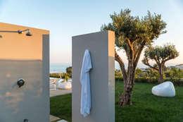 Villa GD: Piscina in stile in stile Moderno di DFG Architetti