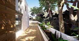 tropical Houses by Vrender.com