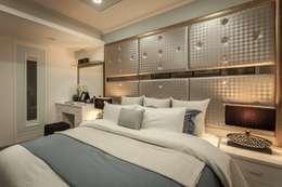 30坪老屋翻新:  臥室 by Green Leaf Interior青葉室內設計