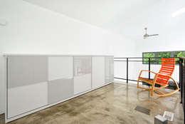 minimalistic Bedroom by Linebox Studio