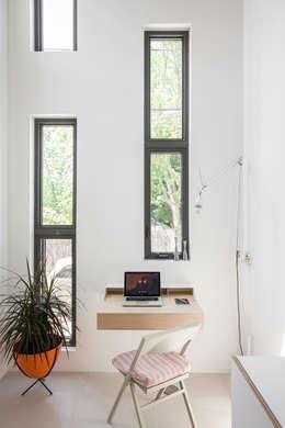 minimalistic Study/office by Linebox Studio