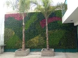 庭院 by Arquitectura Orgánica Viviana Font