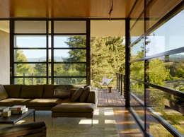 ห้องนั่งเล่น by Aidlin Darling Design