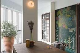 The Wall:  書房/辦公室 by 禾光室內裝修設計 ─ Her Guang Design