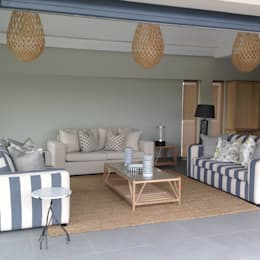 Estate living:  Patios by House of Decor