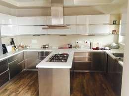 Kitchen Design: industrial Kitchen by Akaar architects