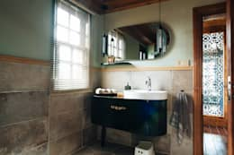 modern Bathroom by Bilgece Tasarım