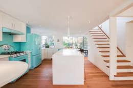 minimalistische Keuken door dpai architecture inc