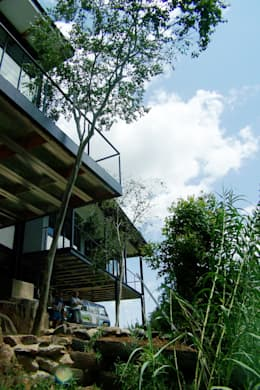 New House for Developer: modern Houses by Human Voice Architects