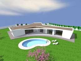 "Vivenda Unifamiliar ""AMAR"": Habitações  por Traço M - Arquitectura"