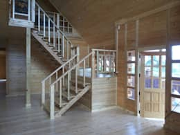 Edificios de oficinas de estilo  por Sukjai Logcabin Partnership