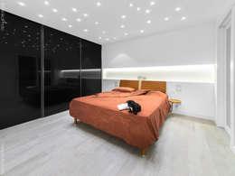 Recámaras de estilo minimalista por SANSON ARCHITETTI