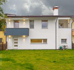 Casas de estilo minimalista por SANSON ARCHITETTI