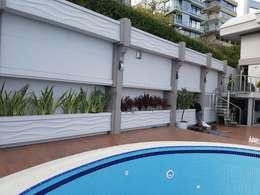 Jardines de estilo moderno por abelia peyzaj