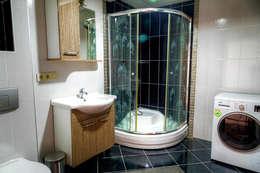 Mandalin Dizayn – Nişantaşı Kıvanç Sokak 2+1 Daire Projesi: modern tarz Banyo