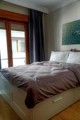 Mandalin Dizayn – Nişantaşı Kıvanç Sokak 2+1 Daire Projesi: modern tarz Oturma Odası