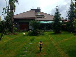 Casas de estilo moderno por Mandalin Dizayn