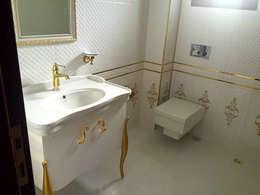 Baños de estilo moderno por Mandalin Dizayn