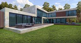 Дом в Подмосковье (485м2): Дома в . Автор –  Aleksandr Zhydkov Architect