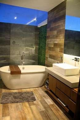 Baño: Baños de estilo  por Narda Davila arquitectura