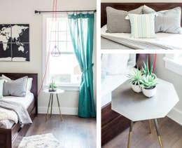 modern Bedroom by Brett Nicole Interiors