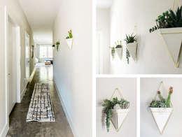 Corridor & hallway by Brett Nicole Interiors