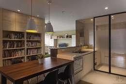 Кухни в . Автор – 禾光室內裝修設計 ─ Her Guang Design