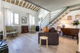 : Soggiorno in stile in stile Moderno di Architetto Francesco Franchini