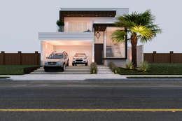 Casas de estilo moderno por Daniele Galante Arquitetura