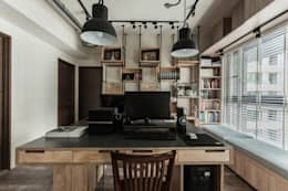 industrial Study/office by 丰墨設計 | Formo design studio