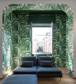 Livings de estilo moderno por Tommaso Giunchi Architect
