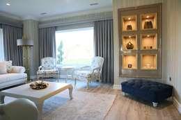 Aykuthall Architectural Interiors – OHY Evi Sunflower Sitesi: modern tarz Oturma Odası