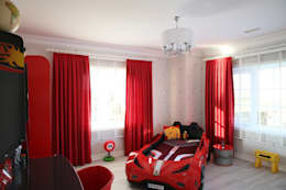 modern Nursery/kid's room by Aykuthall Architectural Interiors