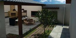 Casas de estilo moderno por SM Arquitetura e Engenharia
