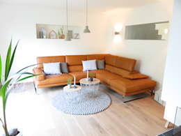 غرفة المعيشة تنفيذ alegroo - interior design