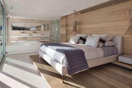 Dormitorios de estilo moderno de ARRCC