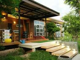 Nhà by D-Built รับออกแบบสร้างบ้าน